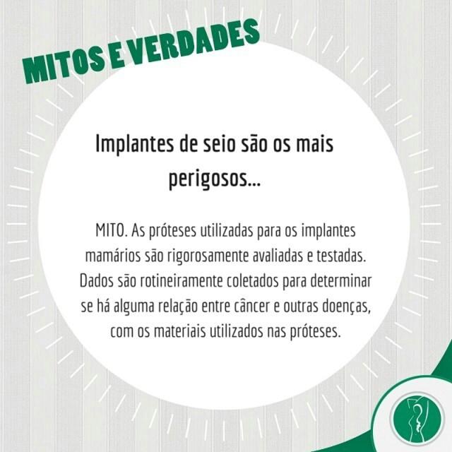 #MitosEVerdades ;) #CirurgiaPlástica #ClinicaLucianoSchutz #Beleza #CirurgiaEstetica #Estetica